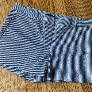 Ann Taylor Striped Summer Shorts